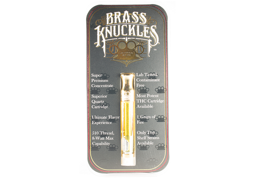 Brass Knuckles  Cartridge Vapes Order Weed Online From