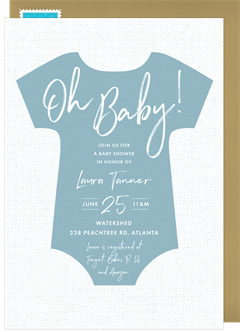 Baby Shower Invitations Greenvelope Com