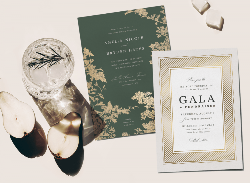how to create a formal invitation word