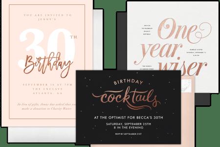 8 Best Birthday Invitation Postcards Designs Templates Free – Birthday Invitation Postcards