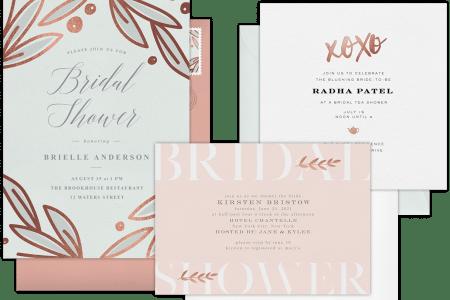 Beach S Bridal Shower Invitation