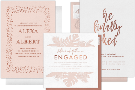 Digital Invitation Cards For Engagement – Online Engagement Party Invitations