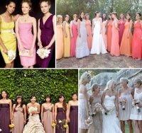 The Bridesmaid Beach Wedding Dress and Colours | Wedding ...