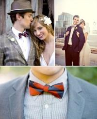 Fun Bow Ties for the Groom | Green Wedding Shoes Wedding ...