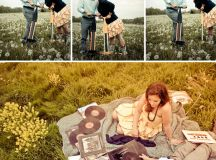 Justin + Nicole's Vintage Inspired Engagement Photos ...