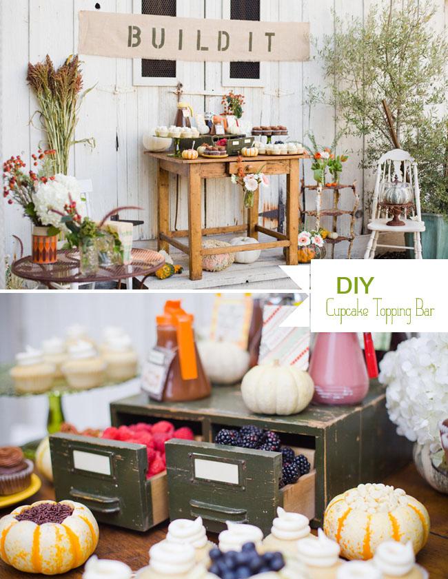 DIY: A Cupcake Topping Bar