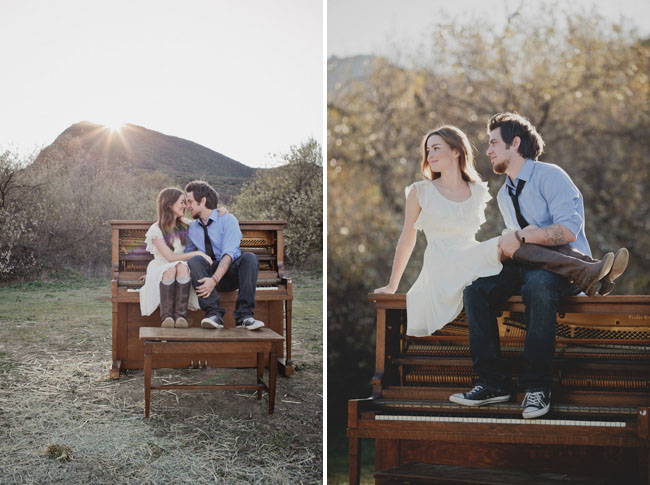 piano engagement lee dewyze