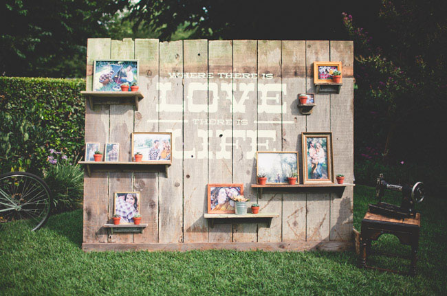 love photo wall