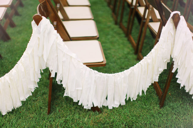 fringe aisle decor