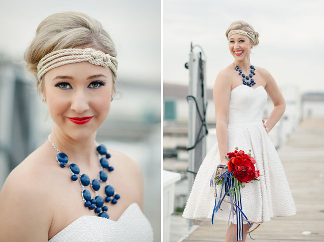 nautical bride