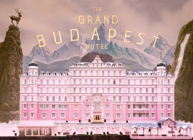 Grand Budapest Hotel inspiration