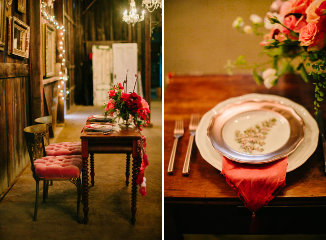 barn tablescape