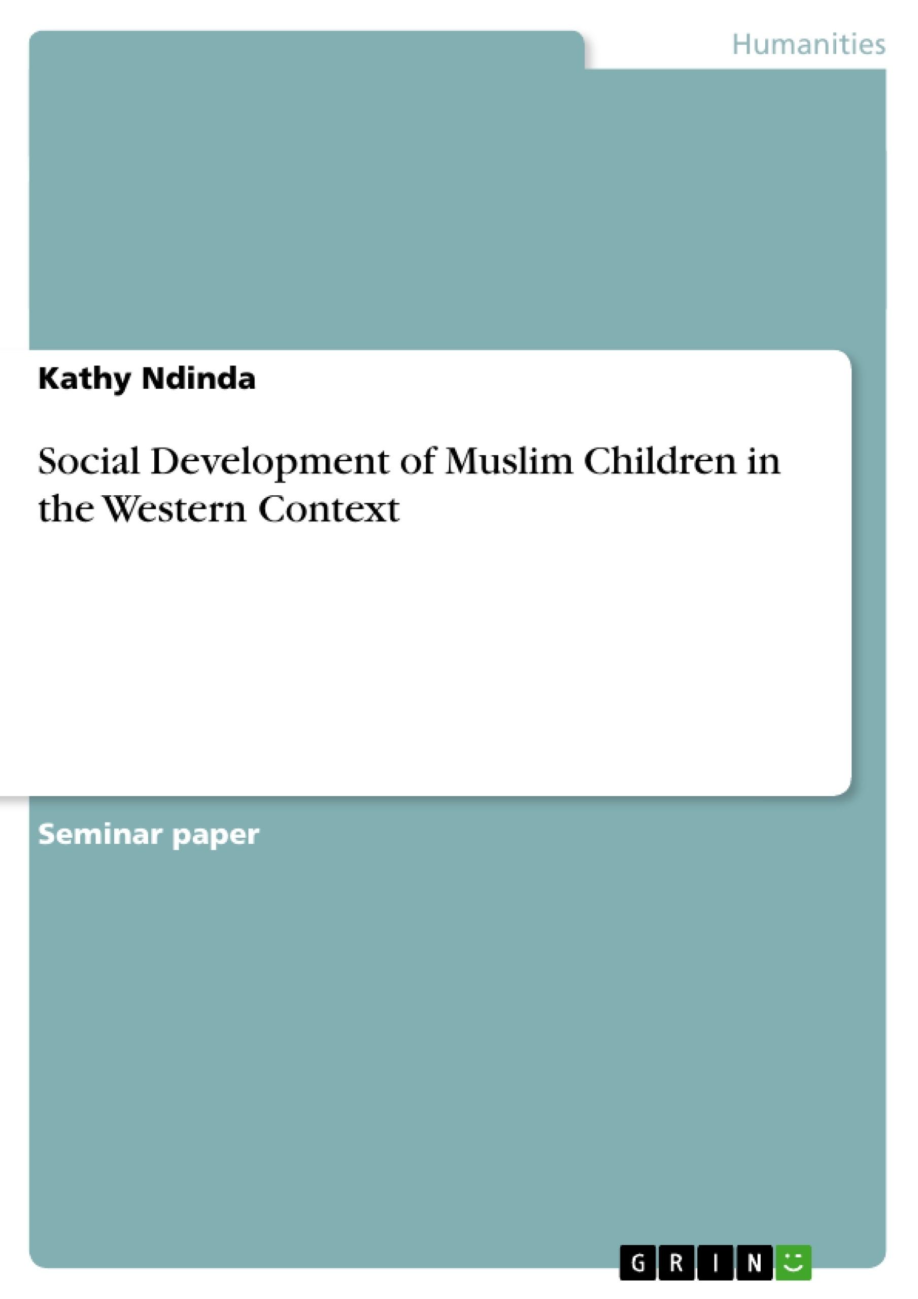 Essay On Social Development In Children