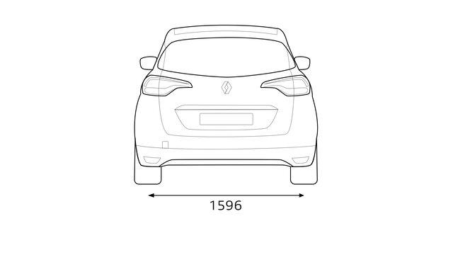 SCENIC Abmessungen: Länge, Breite und Kofferraumvolumen