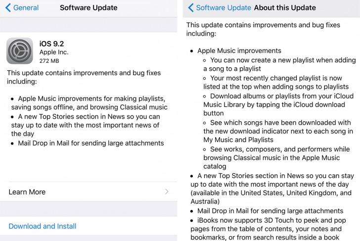 Apple releases iOS 9 2 to the public – Elie Chahine