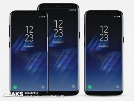 Samsung Galaxy S8 and S8+ promo images