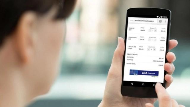 Visa Checkout chega ao Android Pay