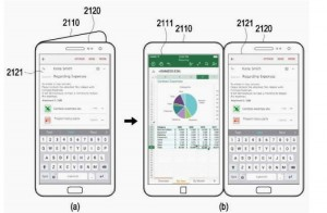 Potential Galaxy X user interface detailed in patent