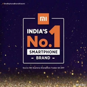 Xiaomi is top smartphone maker in India for Q3 this year