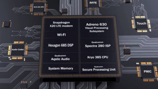 Qualcomm reveals full specs of Snapdragon 845, comes with AI Platform