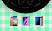 На сайте Samsung представлены даты обновления Oreo для Galaxy Note8, S7 и серии 2017