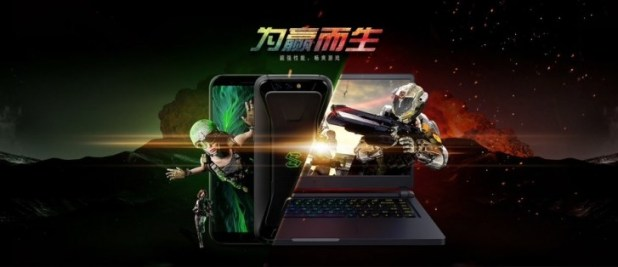 Xiaomi Black Shark shines in two new promo images