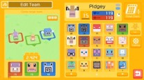 Screenshots of the Pokemon Quest gameplay