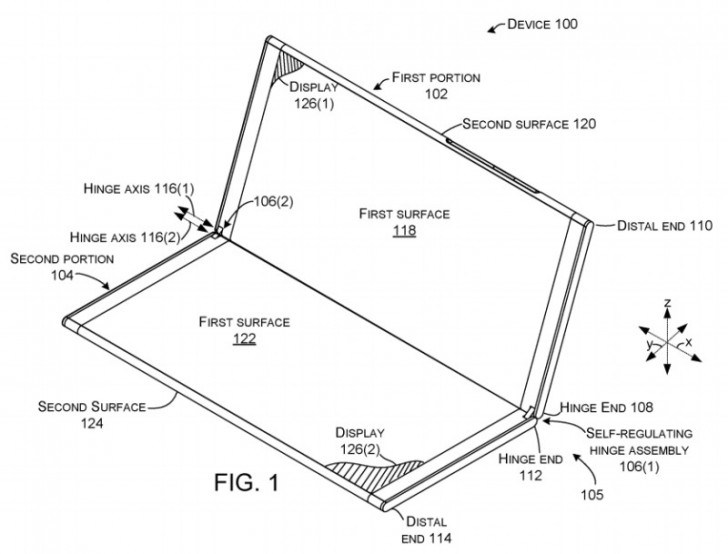 Microsoft working on a foldable Surface phone, LG to