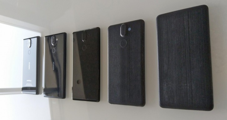 Check out these early prototypes of the Nokia 8 Sirocco