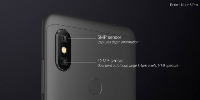 Image result for xiaomi redmi note 6 pro launch india