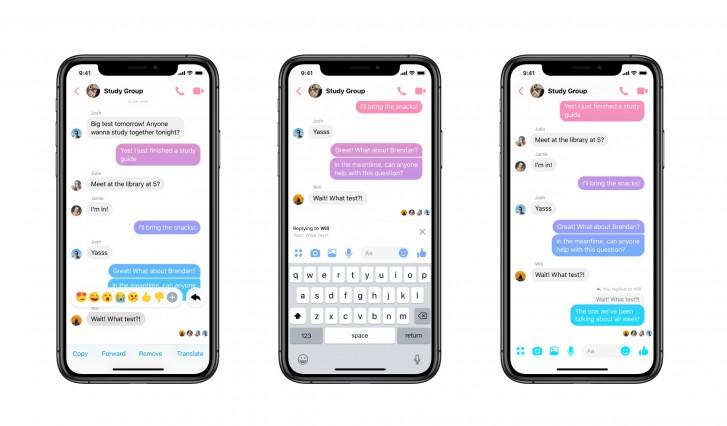 Facebook Messenger já permite citar respostas 1