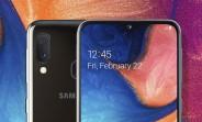 Samsung Galaxy A20e unveiled with a smaller 5.8