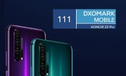 Honor 20 Pro gets 111 score in DxOMark test, matches the OnePlus 7 Pro