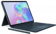 Press renders of Samsung Galaxy Tab S6 surface