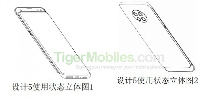 Xiaomi patents a slider with four cameras on the back