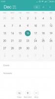 Calendar - Xiaomi Redmi Note 3 review