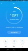 Health app homescreen - Honor 8 review