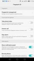 Opciones LOCKSCREEN - Huawei P9 opinión Lite