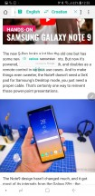 Translate single word - Samsung Galaxy Note9 review