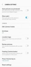Camera modes and menus - Samsung Galaxy M10 review