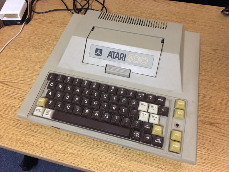 Christmas break project - Upgrading my B-Key Atari 400 with 48/52K of RAM and the Super Color CPU card