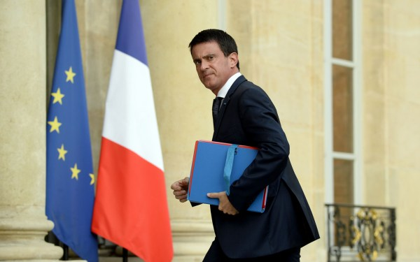 French Prime Minister Manuel Valls / AFP PHOTO / BERTRAND GUAY