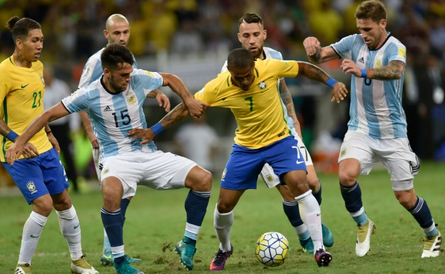 World Cup 2018 Brazil Thrash Argentina 3 0 Sport The