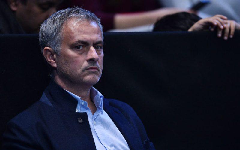 Manchester United coach Jose Mourinho  / AFP PHOTO / GLYN KIRK