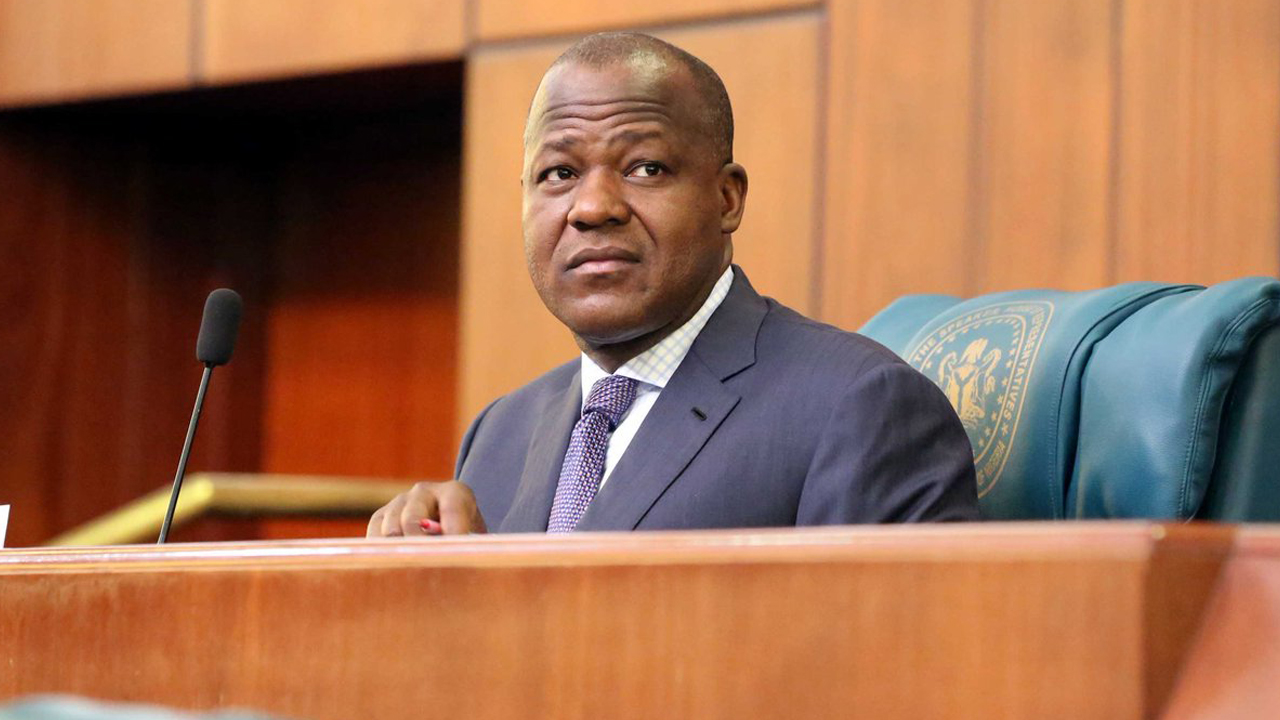 Speaker of House Representatives, Yakubu Dogara
