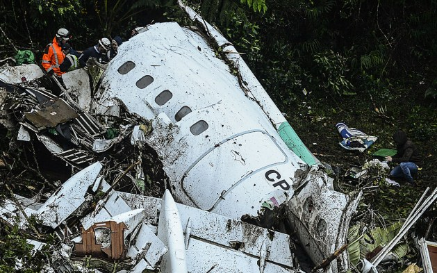 Image result for chapecoense plane crash