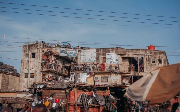 A warehouse in Ladipo  PHOTO: Seun O