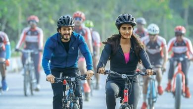 Pic Talk: Akhil & Pooja Hegde In Cycling Mode