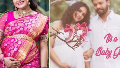 Hariteja Blessed With A Baby Girl