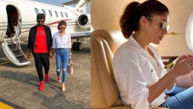 Video: Nayanthara & Vignesh Shivan In Private Jet